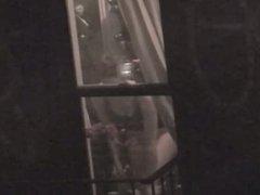 window spy on road