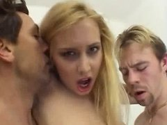 Anal Threesome Fun with Julie Silver