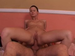 Teen girl anal fuck with mature man