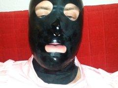 Cum Filled Condom 12, Cumshot, Semen, Bukkake, Mask, Latex