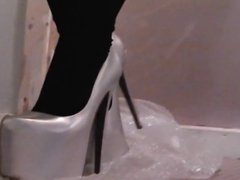 princess doll in 8in heels