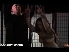 Bound Shibari Suspended And Spanked