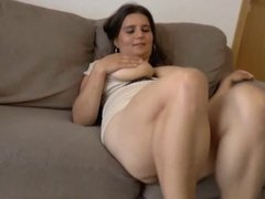 Busty and hairy girl fucked