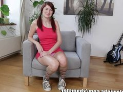 OnlyTeenBJ POV with a young redhead babe