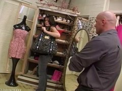 Hot Girl Gets Punished After Caught Shoplifting