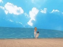 Sybylla Tropical Paradise Swimsuit 3D