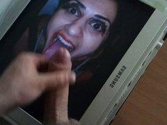 Cum tribute for ana-kurni