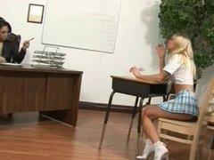 Lesbian Teacher Punishes Her Student...XB