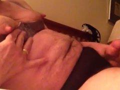 Artemus - Crossdresser Strokes In Bra and Panties