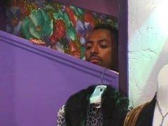 Lovely Ebony Teen Caramel Gets Nailed