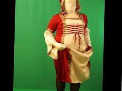 medieval Tgirl dancing