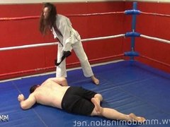 Mixed Fight- Headscissor Beatdowns Trampling Humillation