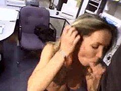 Secretary takes a break to Blow StockBoy