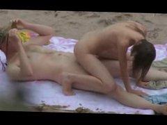 Nude Beach - Hot 69er, Reverse Cowboy & Doggy