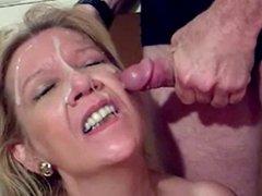 Mature Wife Facial