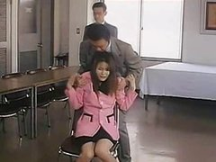Lady Announcer 2001 (Threesome erotic scene) MFM