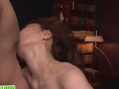 Office slut Kei sex with dick riding