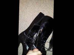 Cum on stripper boots