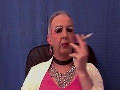 Pink Faggot Holder Smoke