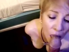 Cougar Head #25 (On her knees showing her Ass)