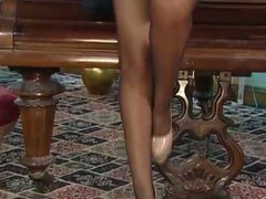yasmine james lingerie and heels