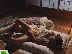 Rika Fujishita Masturbates In Bed