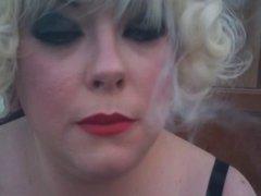 Tina Snua Smoking A Cork 100 Cigarette - Domme Fetish