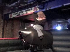 Bbw riding Bull