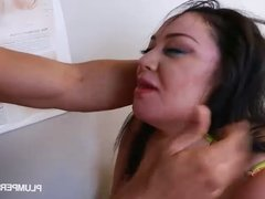 Big Titty BBW Julia Sands Gets Her Tight Pussy Worked Out