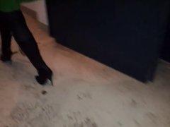 Janine wear's boots