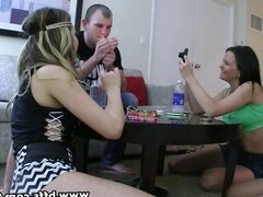 BFFs - Teen junkies on a threesome sex party