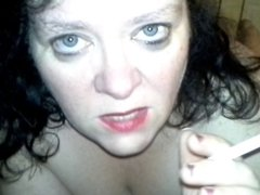 REAL . Cum Slut Wife Facial Compilation . HOT!!