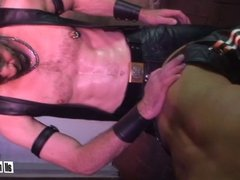 Leather Dad Breed Twink