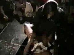Old School Video Woman Sucks Male Strippers Cock