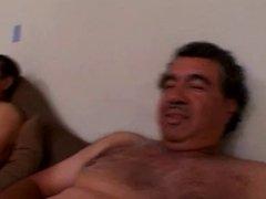 White Woman (s)fucks 2 Mexican Laborers