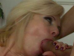 Sexy Blonde Milf with Boy!!