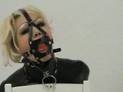 latex bound and gagged