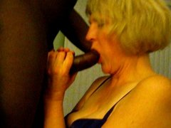 Married slut loves black cock