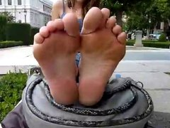 Spanish teen foot fetish interview