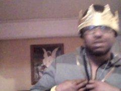 king dancing acting a fool!