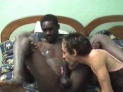 Girly Boy enjoy a Black Dude