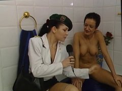 Susana De Garcia - masturbating in the bathtub