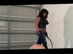 Mika BootLicking Belting & Whipping