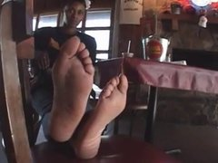 ebony soles size 10  and maybe smelly