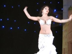 Delicious Ukrainian Yana Kruppa Belly Dancer