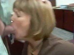 Russian Amateur Slut Office BlowJob