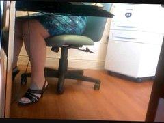 Office Upskirt 1