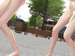 MMD Vocaloid Crew Dance
