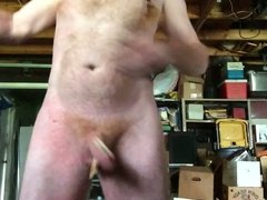 Cock flogging with clothes pins