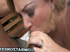 Alessandra Maia - Exotic Latina Pleasuring A Hard Dick